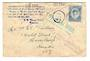 TONGA 1936 Cover dispatched by Tin Can Mail. Standard markings both sides. - 30556 - PostalHist