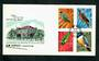NEW HEBRIDES 1972 Definitives. Set of 12 on first day cover. - 30578 - FDC