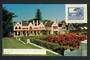 SOUTH AFRICA Coloured postcard of the Groote Schuur from the same angle as the stamp. - 30619