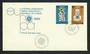 CYPRUS 1980 Europa. Set of 2 on first day cover. - 30639 - FDC