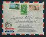 EGYPT 1951 cover to Switzerland. Games at Alexandra. - 30656 - PostalHist
