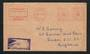 RHODESIA and NYASALAND 1960 Letter from Bulawayo to London. Meter mark. - 30660 - PostalHist