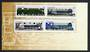 CANADA 1986 Railway Locomotives 4th series. Set of 4 with part of presentation pack. - 30675 - UHM