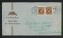 CANADA 1948 Peacetime reconversion illustrated cover addressed to Australia. - 30687 - PostalHist