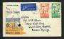 NEW ZEALAND 1941 Health on first day cover produced by the Health Federation. Orange and Blue. - 30697 - FDC