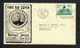 CEYLON 1956 25 Years of National Service on first day cover. - 30700 - FDC