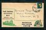 NEW ZEALAND 1959 South Canterbury Centennial Mail. Christchurch to Timaru Railway Travelling Post Office. - 30752 - PostalHist