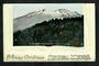 Coloured postcard of Mt Ruapehu from Matakohe Viaduct. Embossed Christmas Card in the form of a book. - 30757 - PostalHist