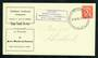 NEW ZEALAND 1956 Official Stage-Coach Mail Invercargill to Riverton. Illustrated cover. - 30764 - PostalHist