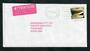 NEW ZEALAND 1998 Tory Channel Flaw  on cover. - 30774 - PostalHist