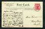 NEW ZEALAND Postmark Dunedin WAIPIATA. A Class cancel on postcard. - 30791 - Postmark