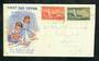 NEW ZEALAND 1951 Health. Set of 2 on illustrated first day cover. - 30796 - FDC