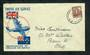 NEW ZEALAND Cover Empire Air Service. - 30797 - PostalHist