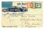SOUTH AFRICA 1933 Registered Airmail Letter to England. South African Travel Bureau agents for Imperial Airways. 1929 air set. -