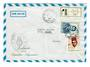 MOROCCO 1973 Air Cover from the Argentinian Embassy to Switzerland. Cachet. - 30870 - PostalHist