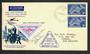AUSTRALIA 1957 40th Anniversary of the First Airmail within South Australia. Special Cover and Cinderella. - 30889 - PostalHist