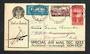 NEW ZEALAND 1933 Air Mail Auckland to Invercargill by Faith in Australia. 1933 Health Stamp. - 30899 - PostalHist