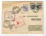 IRAN 1929 First Flight from Tehran to Meched. - 30939 - PostalHist