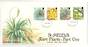 ST HELENA 1987 Rare Plants. First series. Set of 4 on first day cover. - 30965 - FDC
