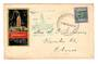 NEW ZEALAND 1940 Centennial 2½d on illustrated cover postmarked at the exhibition on 13/3/1940. - 30972 - PostalHist