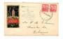 NEW ZEALAND 1940 illustrated cover postmarked at the exhibition on 11/3/1940. - 30973 - PostalHist