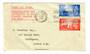 CHANNEL ISLANDS 1948 Definitives. Set of 2 on first day cover. - 30983 - FDC