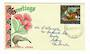 NEW ZEALAND 1963 Christmas on illustrated first day cover. Greetings cover. - 30995 - FDC