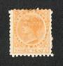 NEW ZEALAND 1882 Victoria 1st Second Sideface 3d Yellow. - 31 - Mint