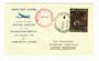 NEW ZEALAND 1960 Special Postmark on cover flown at the Official Opening of the Whakatane Airport. - 31001 -
