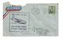 AUSTRALIA 1950 Letter to New Zealand Per Solent Flying Boat Sydney to Wellington. Untidy. - 31005 -
