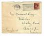 GREAT BRITAIN 1936 Paquebot with Edward 7th 1½d postmarked from Boston Mass. - 31009 -