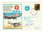 NEW ZEALAND 1978 Cover Commemorating the Last Domestic Flight of NAC. Flown on light 434 Wellington to Auckland 31/3/78 and Flig
