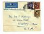 GREAT BRITAIN 1939 Airmail Letter to USA. North Atlantic Air Service. Fold. - 31018 -