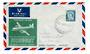NEW ZEALAND 1959 Cover First Flight NAC Viscount Rongotai to Auckland. - 31029 -