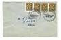NEW ZEALAND 1964 50th Anniversary of the First Timaru to Christchurch Flight Special Postmark on cover. Crease. - 31056 - Postal