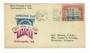 USA 1928 10th Anniversary of Armistace Day. Special cachet on flight cover. - 31065 -