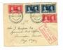 NEW ZEALAND 1937 New Zealand to USA First Airmail Flight December 1937. Envelope to Pago Pago. Backstamp. - 31066 - PostalHist