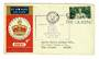 GREAT BRITAIN 1953 Qantas Coronation Flight Cover from London to Ceylon. - 31067 -