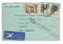 SOUTH AFRICA 1956 Airmail Cover to New Zealand with Cachet