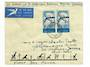 SOUTH AFRICA 1961 50th Anniversary of the First South African Aerial Post on first day cover. GIRAFFES. - 31071 - PostalHist