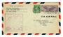 USA 1938 National Air-Mail Week. Special cachet on cover from Carlsbad NM. - 31074 - PostalHist