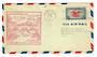 USA 1938 National Air-Mail Week. Special cachet on cover from Middlebury VT.