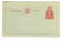 NEW ZEALAND 1953 Elizabeth 2nd Letter Card 3d Orange-Red. - 31087 - Mint