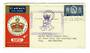 GREAT BRITAIN 1953 Qantas Coronation Flight Cover from London to Port Vila. - 31095 - PostalHist