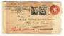 USA 1931 Letter to Amsterdam Holland. Returned. Cachet in Dutch.