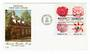 USA 1981 America Camelia Society. Block of 4 on first day cover. - 31113 - FDC