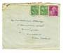 USA 1947 Cover to New Zealand with USA Crippled Childrens Cinderella on the reverse. - 31122 - PostalHist