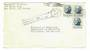 USA 1964 Cover to New Zealand. Cachet