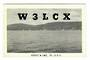 USA QSL Card.   W3LCX. - 31126 - Postcard