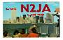 USA QSL Card.    N2JA. - 31128 - Postcard